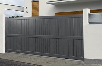 Aluminium modern gates for Portail coulissant 1m80