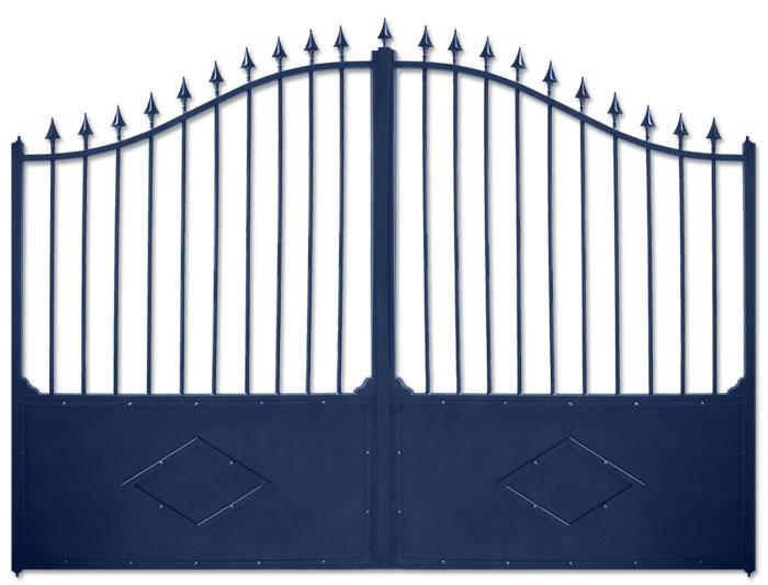 Pin portail alu ouvrant on pinterest for Portail aluminium ouvrant