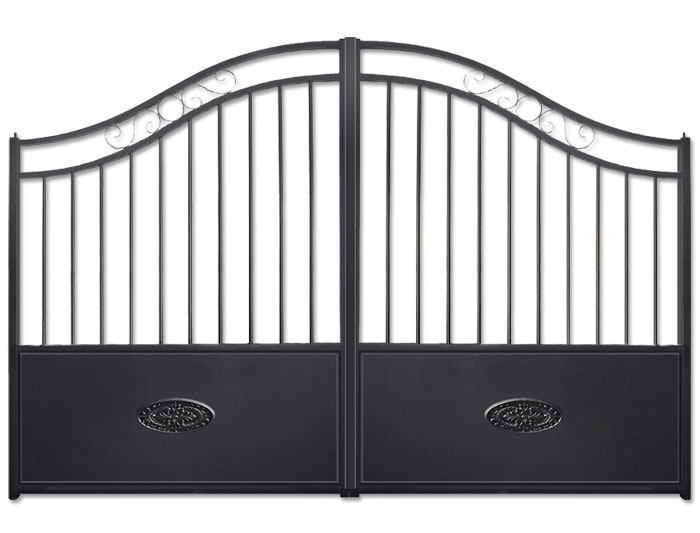 portail battant aluminium fontainebleau. Black Bedroom Furniture Sets. Home Design Ideas